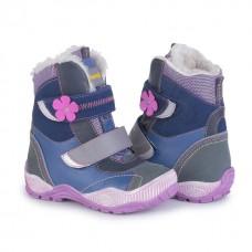 Зимние ортопедические ботинки Memo Aspen (фиолетовые)