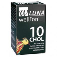 Тест-полоски Wellion LUNA 10 CHOL