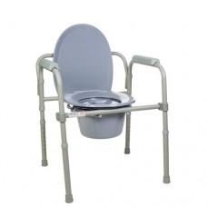 Стул туалетный складной стальной 12627