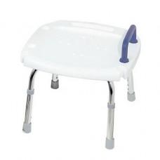 Стул для ванны с ручкой и регулировкой по высоте B9121BC Nova