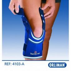 Фиксатор коленного сустава с открытой коленной чашечкой 4103-A Orliman