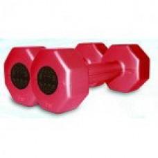 Гантели пластиковые по 2 кг (2шт.) InterAtletik
