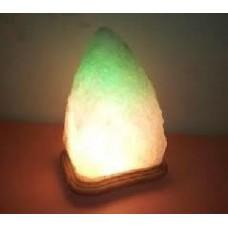 """Соляной светильник """"Скала"""" с цветной лампочкой (3-4 кг), """"Артёмсоль"""""""