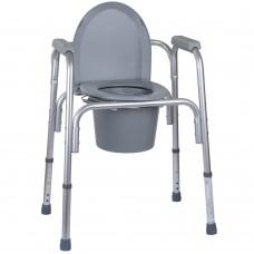 Алюиминиевый стул-туалет 3 в 1 OSD-BL730200