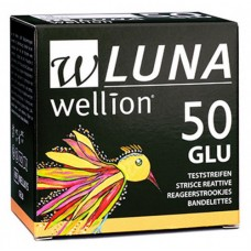 Тест-полоски 50 шт. Wellion Luna Duo