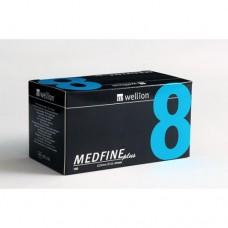 Универсальные иглы 8мм Wellion MEDFINE plus