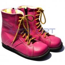 Зимние ортопедические ботинки для детей WIK 13-10 розовые